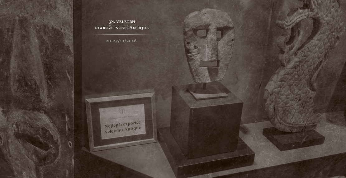 expozice Galerie Kirke na veletrhu starozitnosti