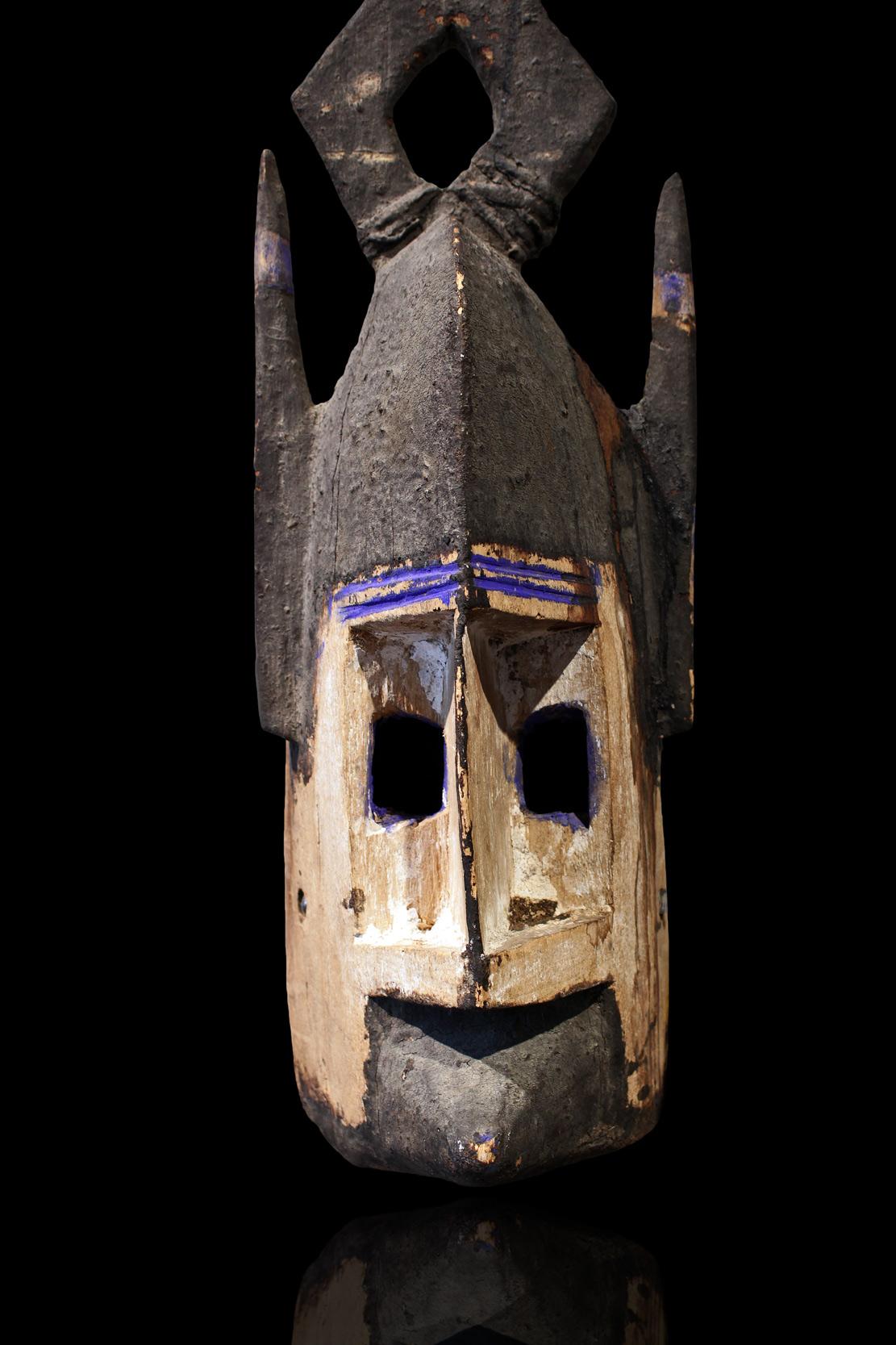 Africká maska, Dogoni, Mali - detail
