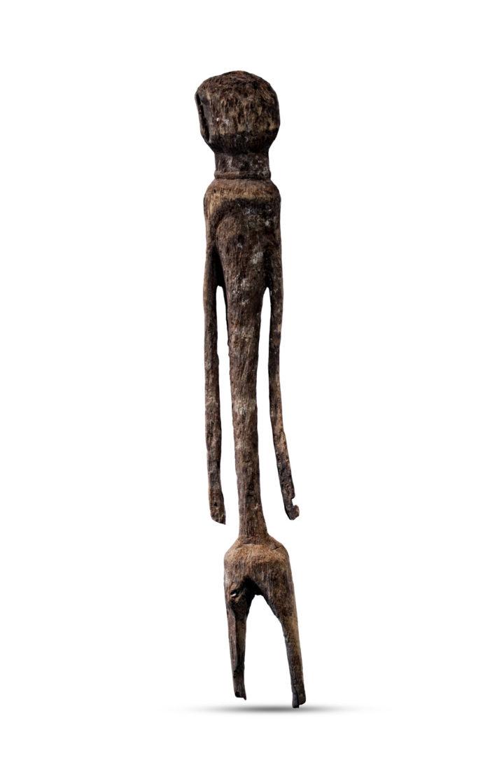 Africká soška, Moba, Togo - front