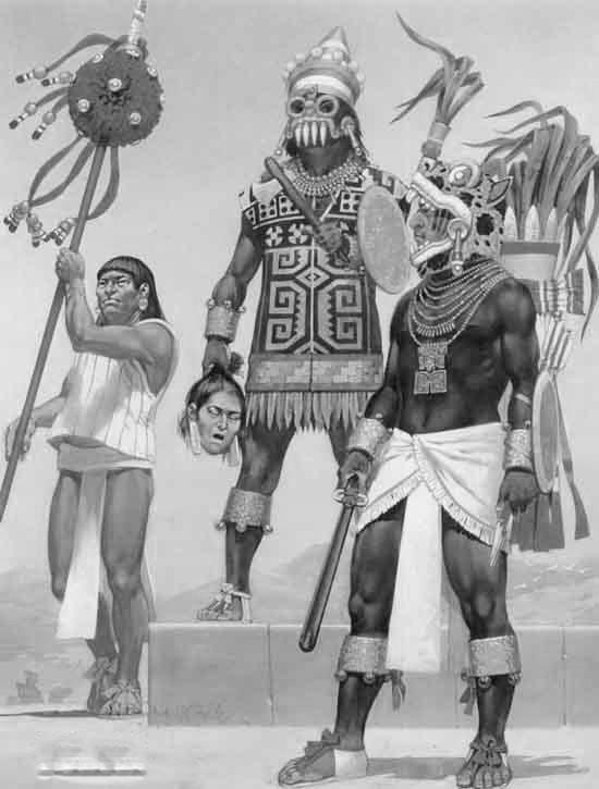 mixtekove bojovnici rekonstrukce