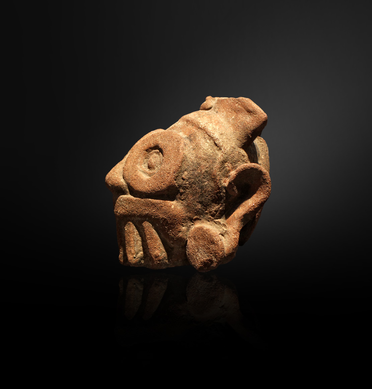 hlina soska amerika mixtekove socha hlava